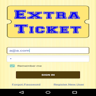 Extra Ticket- screenshot thumbnail