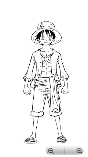 How To Draw One Piece Characters 1.1 screenshots 1