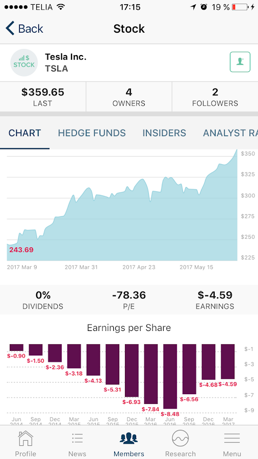 KINFO - Social Investing- screenshot