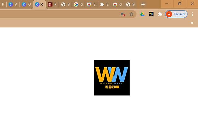 WelbonWork Online Twitch Channel