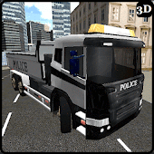 Police Truck Simulator : City