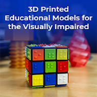 3D Printed Educational Models for the Visually Impaired