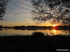 Photo: Day 54 - Sunset on Lake Soyensee
