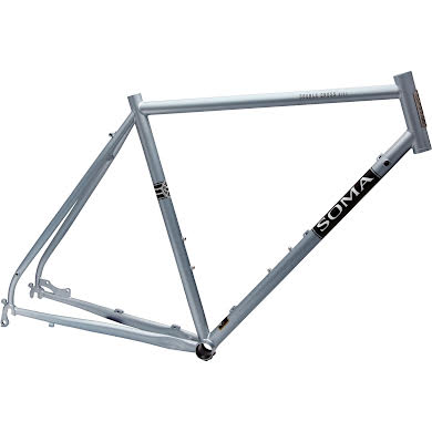 Soma Fabrications Double Cross Disc Frame - Sky Silver Thumb