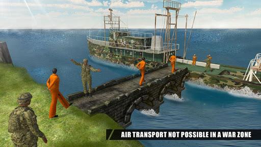 Army Criminals Transport Ship 2.1 screenshots 2
