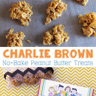 Charlie Brown No-Bake Peanut Butter Treats.