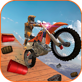 Air Stunt Bike Racing