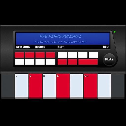 Pre Piano Keyboard