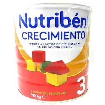 FORMULA CRECIMIENTO   NUTRIBÉN LÁCTEA 3 X900G