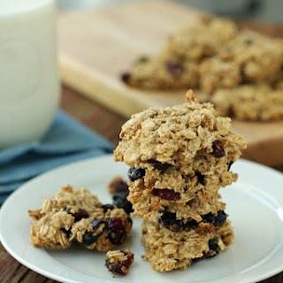 Triple Berry Oatmeal Cookies