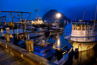 Photo: It was pretty rainy last night, but that certainly didn't stop Jason Mayr and I from heading out for some photos. This was taken at the dock at Morro Bay. Today I'm heading back up through Big Sur along the 1 into Monterey to join +Trey Ratcliff and +Tom Anderson for a nice photowalk in the morning. Then it's back up to San Fran for some city shots. Can't wait!