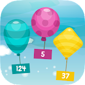 Math Balloon Games for Kids