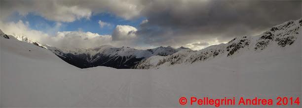 Photo: Panorama 5 nel bacino paradisiaco verso le cime di confine della Val di Rabbi