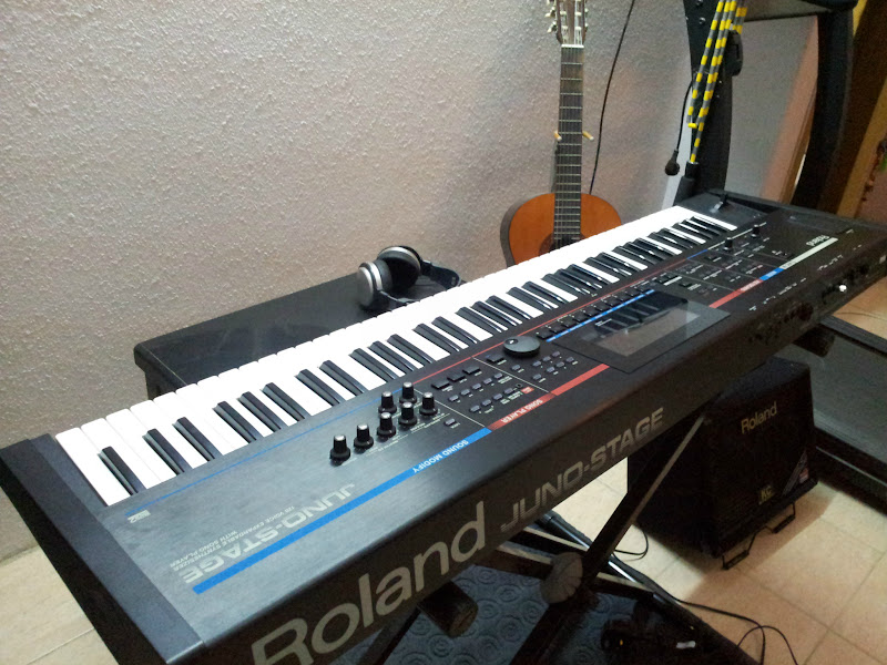 Photo: never thought of buying a synthesizer..as I am an acoustic piano player, but thought to myself - why not? its functionalities are way too cool to be ignored  =)