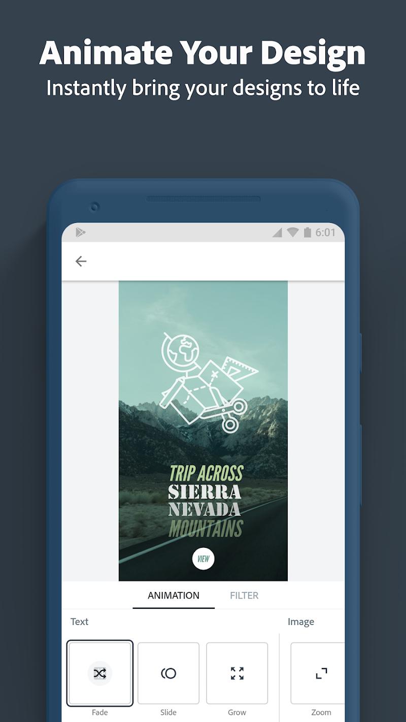 Adobe Spark Post: Graphic design made easy Screenshot 3