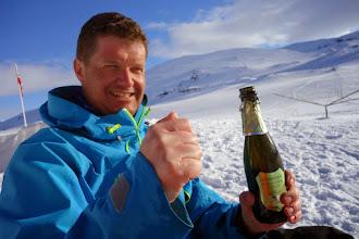 Photo: Prosecco er best etter skitur