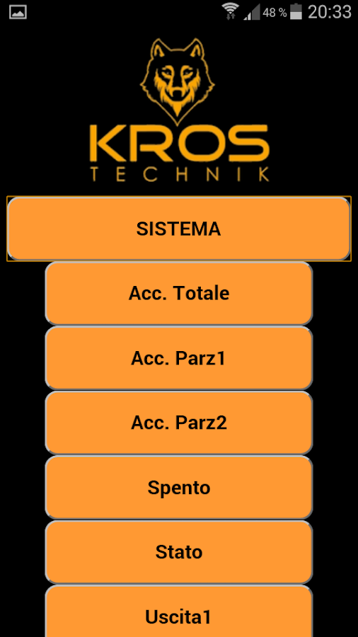KROS SMS- screenshot