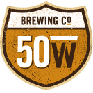 Logo of 50 West Slow Down Brown