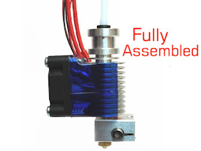E3D All-metal v6 HotEnd Fully Assembled - 1.75mm Universal (Direct) (12v)