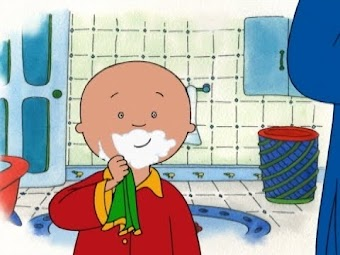 Caillou Tries Karate/Just like Daddy/Caillou's Safari/Cowboy Caillou