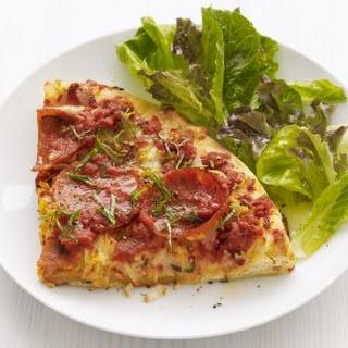 Deep-Dish Pepperoni Pizza