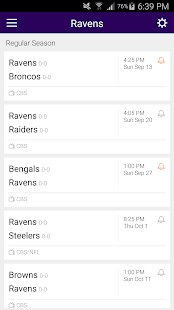 Football Schedule for Ravens, Live Scores & Stats - náhled