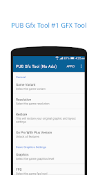 PUB Gfx Tool Free🔧(No Ads) NOBAN APK screenshot thumbnail 1