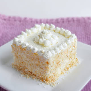 Coconut Frenzy Cake (Low Carb and Gluten Free).