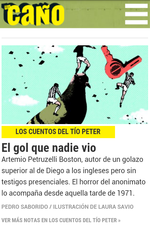 Revista Un Caño- screenshot