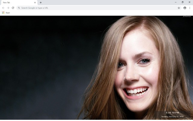 Amy Adams New Tab & Wallpapers Collection