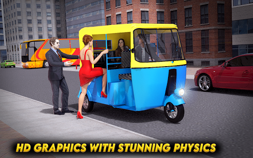 City Auto Rickshaw Tuk Tuk Driver 2019 0.1 screenshots 7
