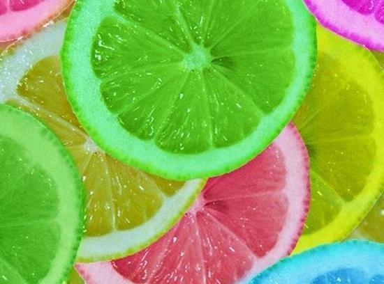Colored Lemons Recipe