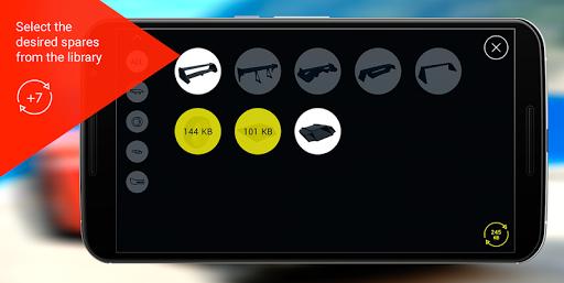 玩免費遊戲APP|下載Arspare - virtual tuning app不用錢|硬是要APP