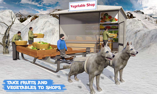 Snow Dog Sledding Transport Games: Winter Sports 1.4 screenshots 3