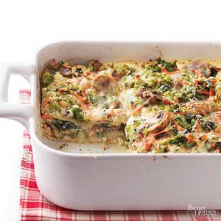 No Tomato Vegetable Lasagna Recipes.