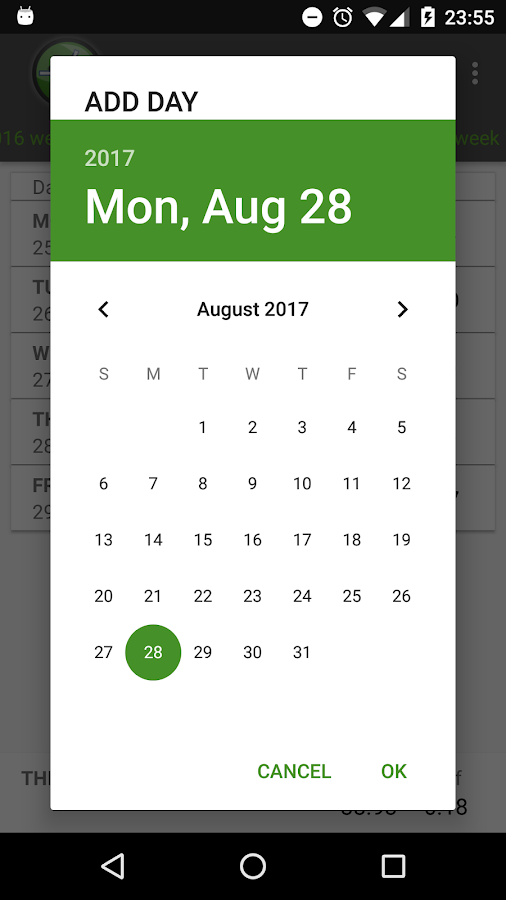 Worktime - Automatic Timetracker- screenshot