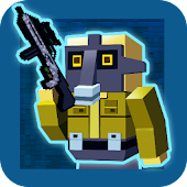 Gun Shoot - Pixel War 3D