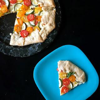 Zucchini Tomato Crostada