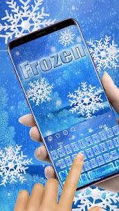 Frozen Snowflake Keyboard 2