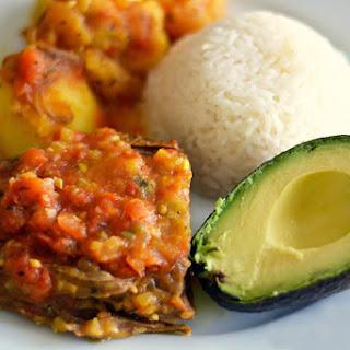 Sobrebarriga en Salsa Criolla (Colombian Flank Steak in Creole Sauce) Recipe