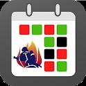 FireSync Shift Calendar icon