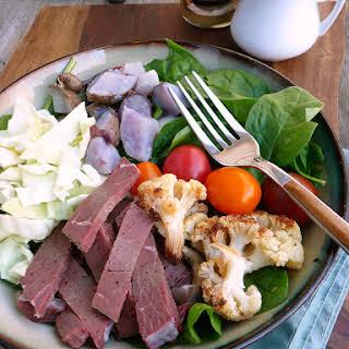 Corned Beef & Cabbage Salad.