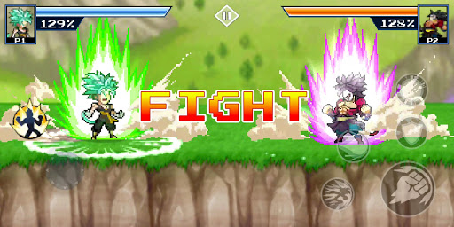 ud83dudc32 Dragon Warrior: Z Fighter Legendary Battle android2mod screenshots 1