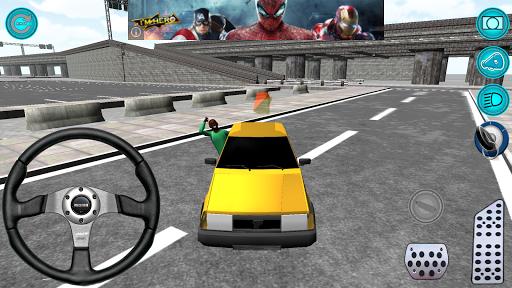 Sarı Taksi Oyunu 3D Hey Taxi
