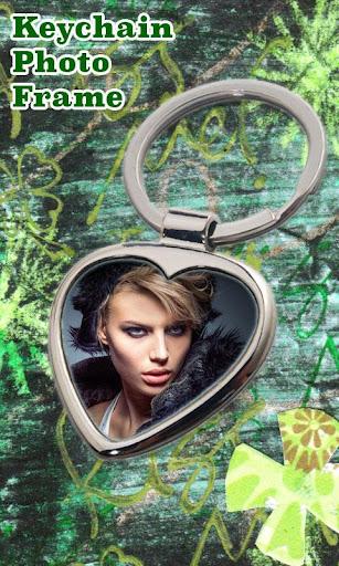 Keychain Photo Frame Maker
