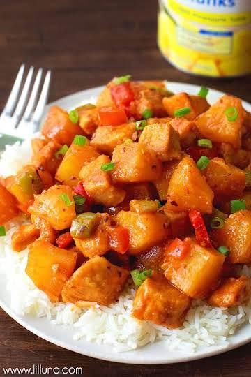 Easy Pineapple Chicken Recipe | Lil' LUna