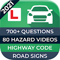Driving Theory Test 2021 UK - Car theory & hazards icon