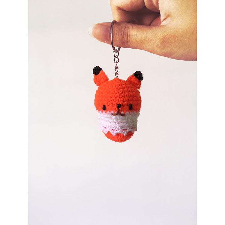 Foxy Keychain by Ricincraft