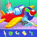 Kids Plane Wash Station And Repair Garage icon
