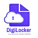 DigiLocker  -  a simple and secure document wallet icon